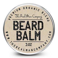 The Real Man Company Beard Balm Review