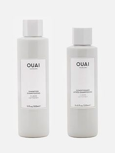 Ouai Haircare Clean Shampoo and Conditioner | http://allure.com