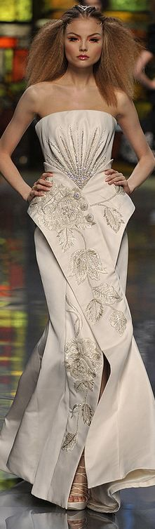 Christian Dior Haute Couture S/S 2009 ♥ Reputation Line Inc. NY - Branding & Marketing