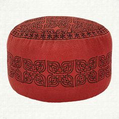 Shop The Maya Pouf Collection At Arhaus Henna ShopLiving Room