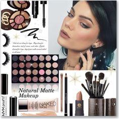 Natural Matte Makeup #tutorial #natural #matte #makeup