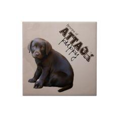 Labrador Puppy tile