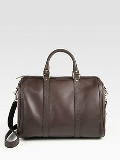 Gucci - Vintage Web Medium Boston Bag - Saks.com