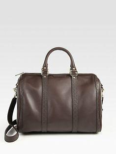 Gucci - Vintage Web Medium Boston Bag - Saks.com