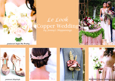 Copper Wedding, Gold Wedding, Marie, Style Me, Rose Gold, Shit Happens, Pretty, Inspiration, Biblical Inspiration