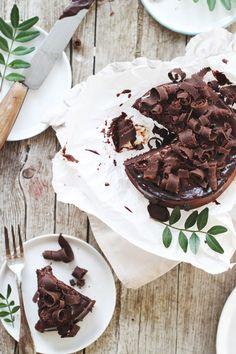 Rezept für das sexieste Schokoladen-Bananen-Buttermilch-Törtchen ever