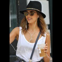 Janessa Leone Stephen Hat as seen on Jessica Alba
