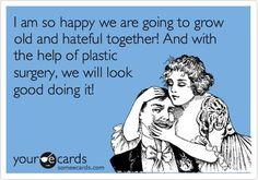 #plasticsurgeryhumour #growold #growoldtogether #lookgood #humour #PSHub #plasticsurgeryhub