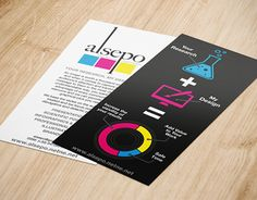 """Check out new work on my @Behance portfolio: """"Alsepo Design for Scientists flyers"""" http://be.net/gallery/37005609/Alsepo-Design-for-Scientists-flyers"""