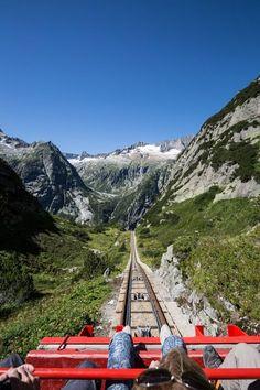Wanderung rund um den Gelmersee - Gelmerbahn - Wandertipp