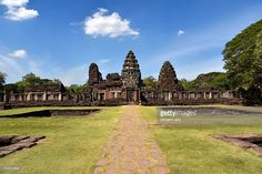 Prasat Hin Phimai is the largest Khmer temple in Thailand today. It is a sanctuary of Mahayana Buddhism. Asia.  #phimai #thai #photo #siam #photograph #www.vincent-jary.fr #getty #gettyimages #photography #city #travel #destination #touristic #khmer