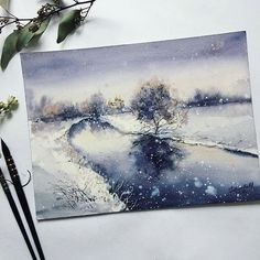 WEBSTA @ watercolor.illustrations -  Watercolorist: @aily_shamanka#waterblog #акварель #aquarelle #painting #drawing #art #artist #artwork #painting #illustration #watercolor #aquarela
