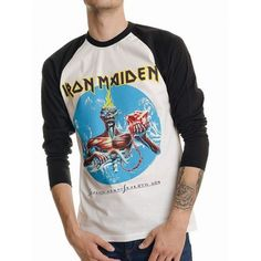 Tricou Maneca Lunga Iron Maiden: Seventh Son - MetalHead Merch Iron Maiden Seventh Son, Metalhead, Sons, Long Sleeve, Sleeves, Mens Tops, T Shirt, Outfits, Fashion