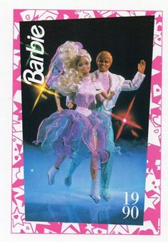 1990 Barbie & Ken Ice Capades 50th Anniversary ... I had the original Barbie. Just saw the ken at the 127 garage sales