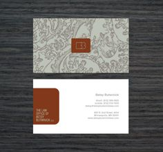 Professional Lawyer Business Cards - Garrick Willhite