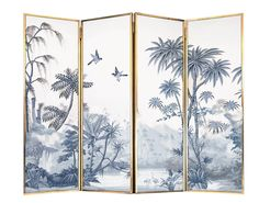 crafted home decor Folding Screen Room Divider, Room Screen, Room Dividers, Hair Salon Interior, Diy Interior, Decoration, Art Decor, Home Decor, Feng Shui