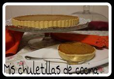 Mis Chuletillas de Cocina: Pumpkin Pie o Tarta de Calabaza