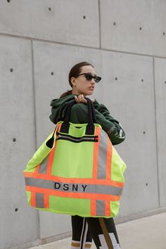 A Full Look at Heron Preston's DSNY Collaboration: Pricing and availability info, too. Preston, Gemma Styles, Full Look, Street Culture, Sport Casual, Heron, Nike, Work Wear, Ideias Fashion