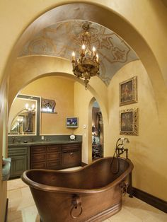 Tuscan Living Rooms from Ann Wisniewski : Designers' Portfolio 1640 : Home & Garden Television