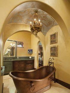 Copper Bathtub....a girl can dream ;))~
