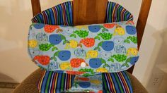 Portable High Chair/Go Anywhere Chair by michellesfusedglass Portable High Chairs, Handmade Gifts, Furniture, Vintage, Etsy, Home Decor, Kid Craft Gifts, Decoration Home, Room Decor
