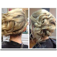 My hair for prom! #hairdosforprom