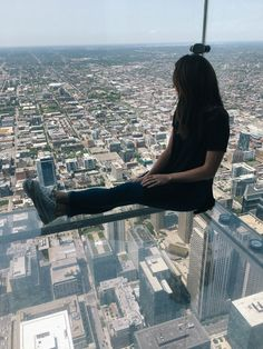 The Skyledge at the Willis Tower in Chicago is sure to make you lose your stomach a little, but totally worth the views.