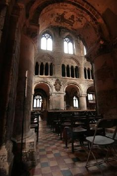 Inside London's oldest parish church, St Barthololmew the Great, Smithfield - built circa 1123 England Ireland, England And Scotland, London England, The Places Youll Go, Places To See, Beautiful Buildings, Beautiful Places, British Architecture, Place Of Worship