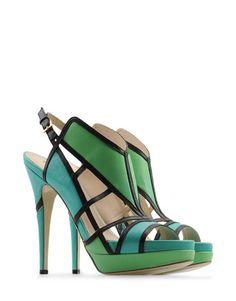 Burak Uyan sandals  .. so colourful!