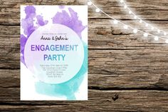 One of a kind engagement stationary personalised specifically for you!    Having someone design a beautiful unique set for your engagement/wedding can