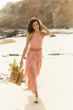 the cutest outfit to wear from the beach to the bars! looks so comfortable too!