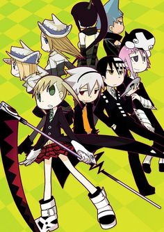 That awkward moment...when Maka is holding Soul....and Soul is standing beside her.....