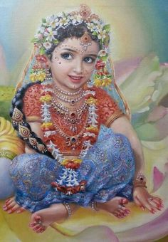 """""""O Radharani, the queen of Vrndavana, with the medicine of the red lac from Your lotus feet, please bring back to life this person now dead from the bites of the black snake of not seeing You."""" (Vilapa-kusmanjali by RDG) Hare Krishna, Krishna Lila, Radha Krishna Photo, Krishna Art, Radha Krishna Wallpaper, Radha Krishna Pictures, Lord Krishna Images, Radha Rani, Indian Folk Art"""