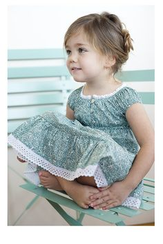 Sweet little dress #modestbeauty (love the lace and buttoned bodice!)