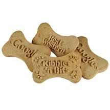 Cute dog biscuits personalized with a 3D custom molded logo. Neat idea!