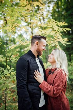 Our backyard in Mississippi Mills, ON is the perfect woodland for a romantic session Fall Engagement, Engagement Session, Engagement Photos, Ottawa Valley, Early Autumn, Mississippi, Photo Sessions, Woodland, Backyard