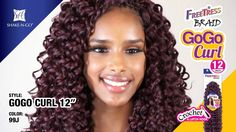 "NEW 12"" Length! FreeTress Braid GoGo Curl"