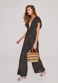 The TULUM Jumpsuit in Small Feather!  #StoneColdFox