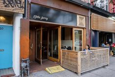 The Little Jerry is a wine bar, sure, but first and foremost it's a room designed for listening to vinyl records that plays host to almost nightly DJs. Plum Butter, Technics Sl 1200, Arctic Char, Baked Mushrooms, Steak Tartare, Pickled Ginger, Dj Booth, Spicy Chili, Drying Herbs