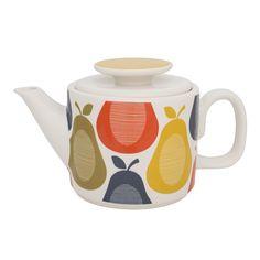 Discover the Orla Kiely Pear Teapot at Amara