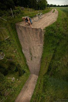 Camino cascada.