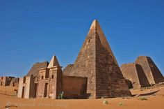 Ancient Pyramid Of Meroe:The Forgotten World   #Sudan #africa