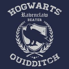 Ravenclaw Quidditch Cheap Funny T-Shirt Hogwarts Textual Tees / Wallpaper Hogwarts Mystery, Hogwarts Houses, Luna Lovegood, Ravenclaw Quidditch, Harry Potter Fandom, Mischief Managed, Funny Tshirts, Fandoms, Louis Weasley