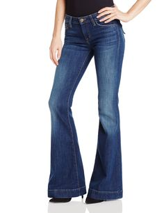 Hudson Jeans Women's Ferris Flare Flap Jean, Satyricon, 29. 8 inch rise. 23 inch leg opening.