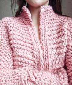 Chunky short wool cardigan, cable knit women's wool cardigan, pink cardigan with wide sleeves, bomber jacket Chunky Cardigan, Pink Cardigan, Cable Knit Cardigan, Sweater And Shorts, Angora Sweater, Chunky Wool, Jacket Pattern, Cardigans For Women, Lana