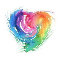 Aquarell Tattoo – 1000 Herzen – coolTop Aquarell Tattoo – 1000 Herzen – - Old School Watercolor Heart Tattoos, Watercolor Quote, Watercolor Paintings, Small Watercolor Tattoo, Trendy Tattoos, Small Tattoos, Small Colorful Tattoos, Murciano Art, Tatoo Heart
