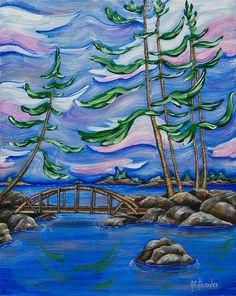 Ottawa River Inlet by Jill Alexander Ottawa River, Group Of Seven, Vibrant Colors, Colours, Canadian Art, International Artist, Fine Art America, Grade 3, Wall Art