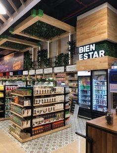 Pharmacy Design, Retail Design, Carnicerias Ideas, Small Restaurant Design, Mini Store, Vegan Store, Supermarket Design, Small Restaurants, Home Room Design