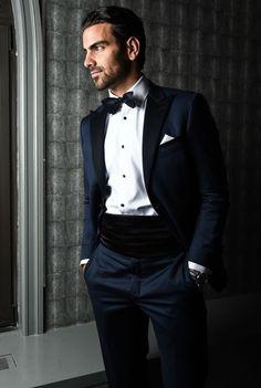Beautiful Photos Of Nyle DiMarco, Andreja Pejic, And Karrueche Tran Getting Ready For The AmFar Gala Dapper Gentleman, Gentleman Style, The Cw, New York City, Nyle Dimarco, Tuxedo Suit, Elegant Man, Raining Men, Groom And Groomsmen