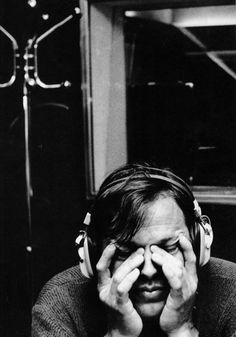 David Gilmour of Pink Floyd photographed by Claude Gassian, Paris (1982)
